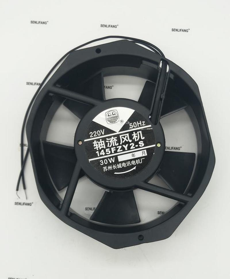Free Shipping 145FZY2-S Axial Fan Welding Machine Cooling Fan Double Bearing Air Blower220V 30W 0.15A 172*152*38mm