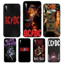 Australian Rock Band AC DC Phone Case For Huawei P Y Nova mate 20 30 10 40 pro lite smart Cover Fundas Coque