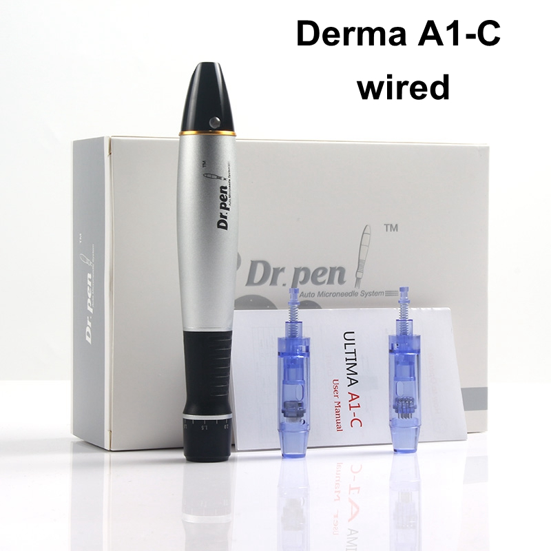 Hot Sale Wired Dr.Pen Ultima A1-C Derma Pen BB Glow Kit MTS Professional Beauty Equipment Semi-permanent Embroidery Tattoo Gun
