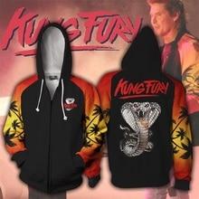 Karate Kid Val Armorr 3D Print Hoodies Sweatshirts Cosplay Hooded Casual Coat Jacket