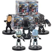 Робокоп рисунок ED-209 Мерфи фигурки Animed вер. Коллекционные модели игрушек 5 шт./компл. 6-7 см