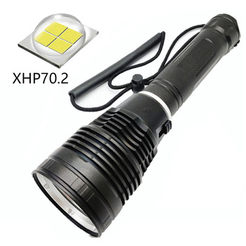 XHP70.2 LED Scuba Diving Flashlight Underwater 100M Torch Diver Lantern 26650 Submarine Light Spearfishing Light 1Mode outdoor cycling underwater scuba diving 5led 5000lm xml t6 scuba diving flashlight torch lamp for spearfishing