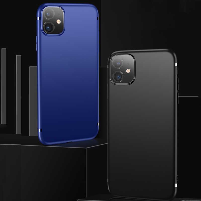 Capa matte para iphone 11 capa macia tpu mofi apple iphone 11promax caso ultra fino silicone preto volta magro capa protetora coque