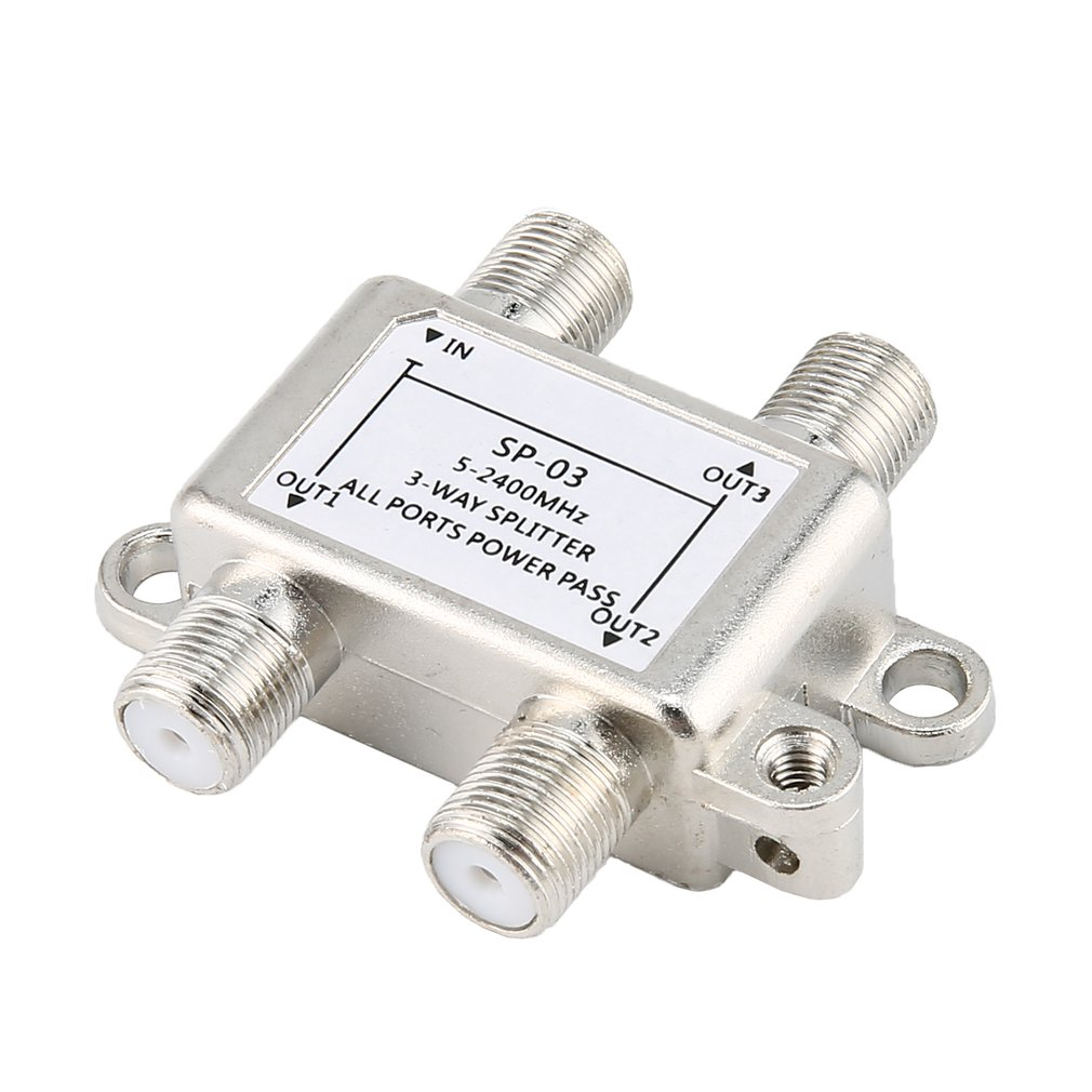Small Size Satellite Power Splitter 3-way Splitter Three Power Splitter JS-SP03 Splitter Power Splitter
