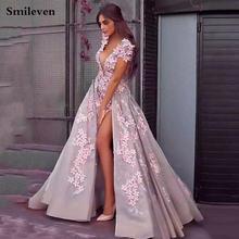 Официальные Вечерние платья 2020 г smileven сексуальные вечерние