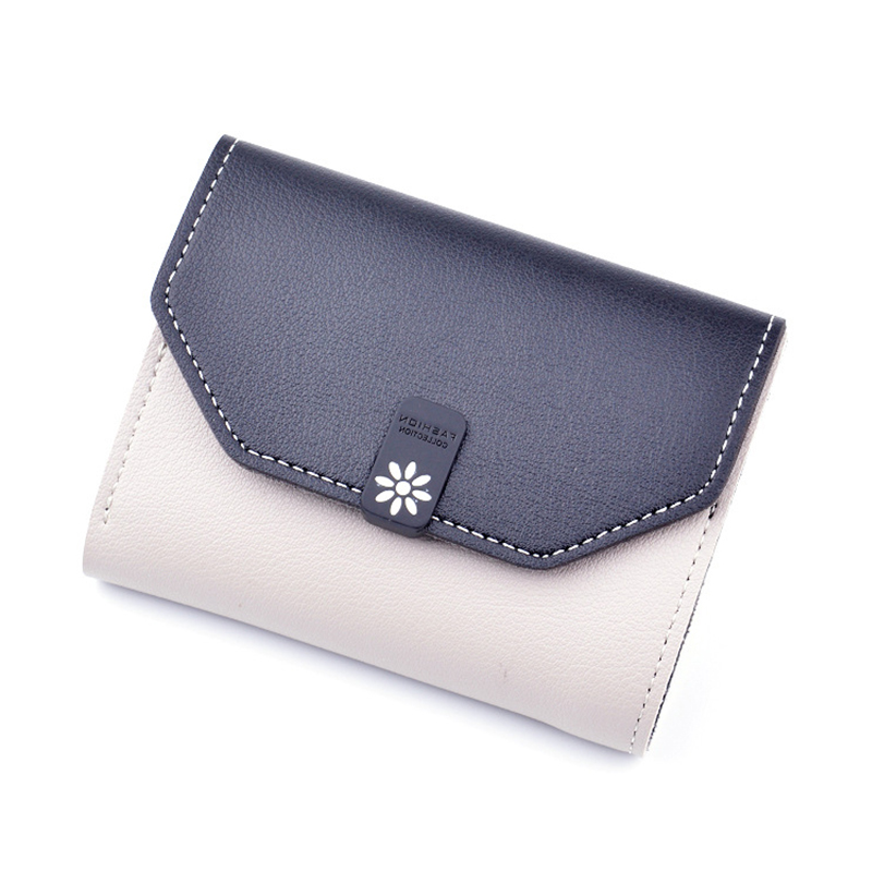 Brand Designer Small Wallet Women Leather Wallets Short Ladies Purses Money Bag Credit Card Holders Girls Wallet Clutch W080