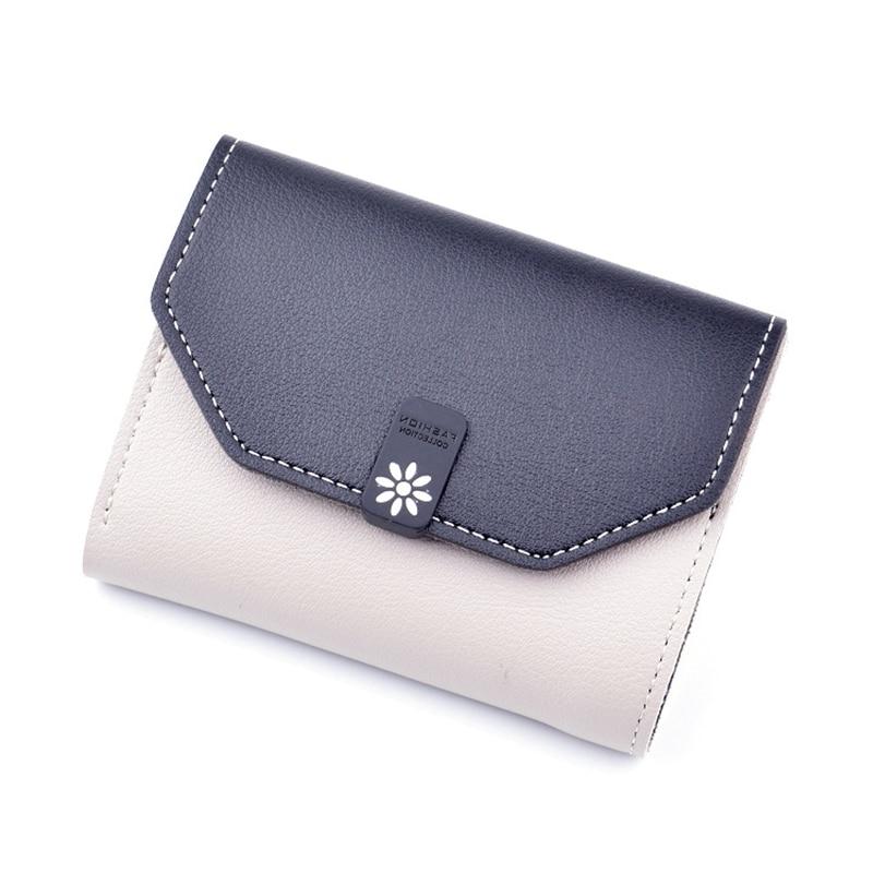 Brand Designer Small Wallet Women Leather Wallets Short Ladies Purses Money Bag Credit Card Holders Girls Wallet Clutch W080