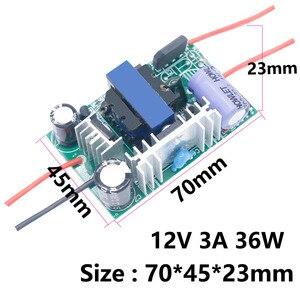 Image 5 - HA CONDOTTO il Driver 220V a DC12V 1A Luce 24V 6W 12W 24W 36W 60W per 24V 1A 1.5A HA CONDOTTO di Alimentazione 12 V Trasformatori di Luce 12 Volt Per LED