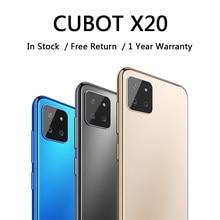 CUBOT – smartphone X20, téléphone portable pas cher, batterie 4000mAh, Triple caméra arrière AI, déverrouillage par reconnaissance faciale, Android 2020, 9.0