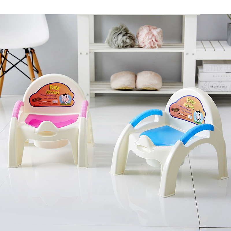 Toilet For Kids Baby Small Chamber Pot Can Be Used As Jiaojiao Plastic New Style Extra-large No.
