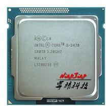 Intel processador quad core, processador de i5 3470 ghz quad core cpu 6m 77w lga 3470 da intel core 3.2 i5 1155 ghz