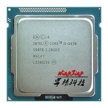 インテルコア i5 3470 i5 3470 3.2 Ghz のクアッドコア CPU プロセッサ 6 メートル 77 ワット LGA 1155