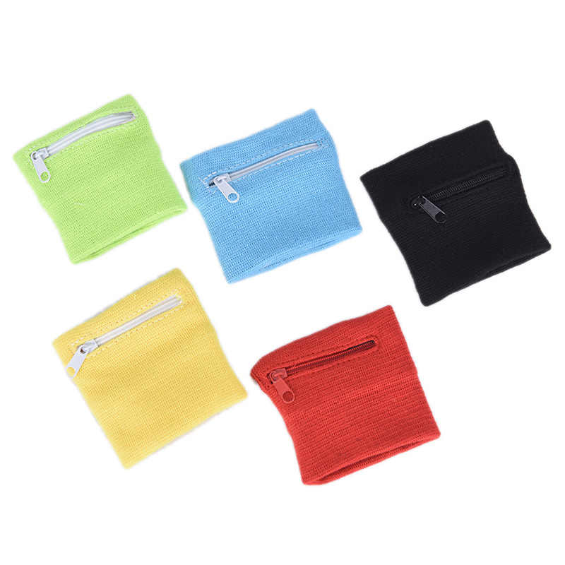 Sport Portemonnees Wrist Wallet Pouch Arm Band Tas Voor MP3 Key Card Opbergtas Case Polsband Zweetband Vrouwen Tas