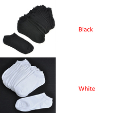 10 Pairs Color Mixing Breathable Sports Socks Men Socks Solid Color Boat Socks Comfortable Cotton Ankle Socks White Black Socks socks 2 pairs chicco size 022 color white