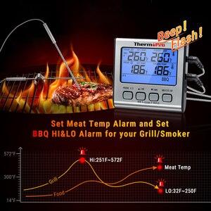 Image 5 - ميزان الحرارة TP17 مقياس حرارة للمطبخ الرقمي للفرن مقياس حرارة اللحوم مع الموقت