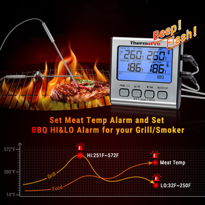 Image 5 - Thermopro TP17 Digitale Keuken Thermometer Voor Oven Vlees Thermometer Met Timer