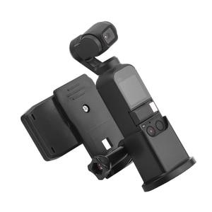 Image 2 - Backpack Clip Holder Handheld Gimbal Camera Bracket Bag Clamp Clip for DJI OSMO POCKET 2 Portable Expansion Fixed Adapter Mount