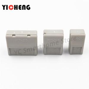 Image 5 - 50 sztuk box case uniwersalny kompaktowy przewód złącze do przewodów listwa zaciskowa z dźwignią 0.08 2.5mm2 złącze przewodu DIY
