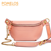 POMELOS Luxury Handbags Women Chest Bag Designer Excellent Quality Genuine Leather Waist For 2020 New Arrivals Fashion