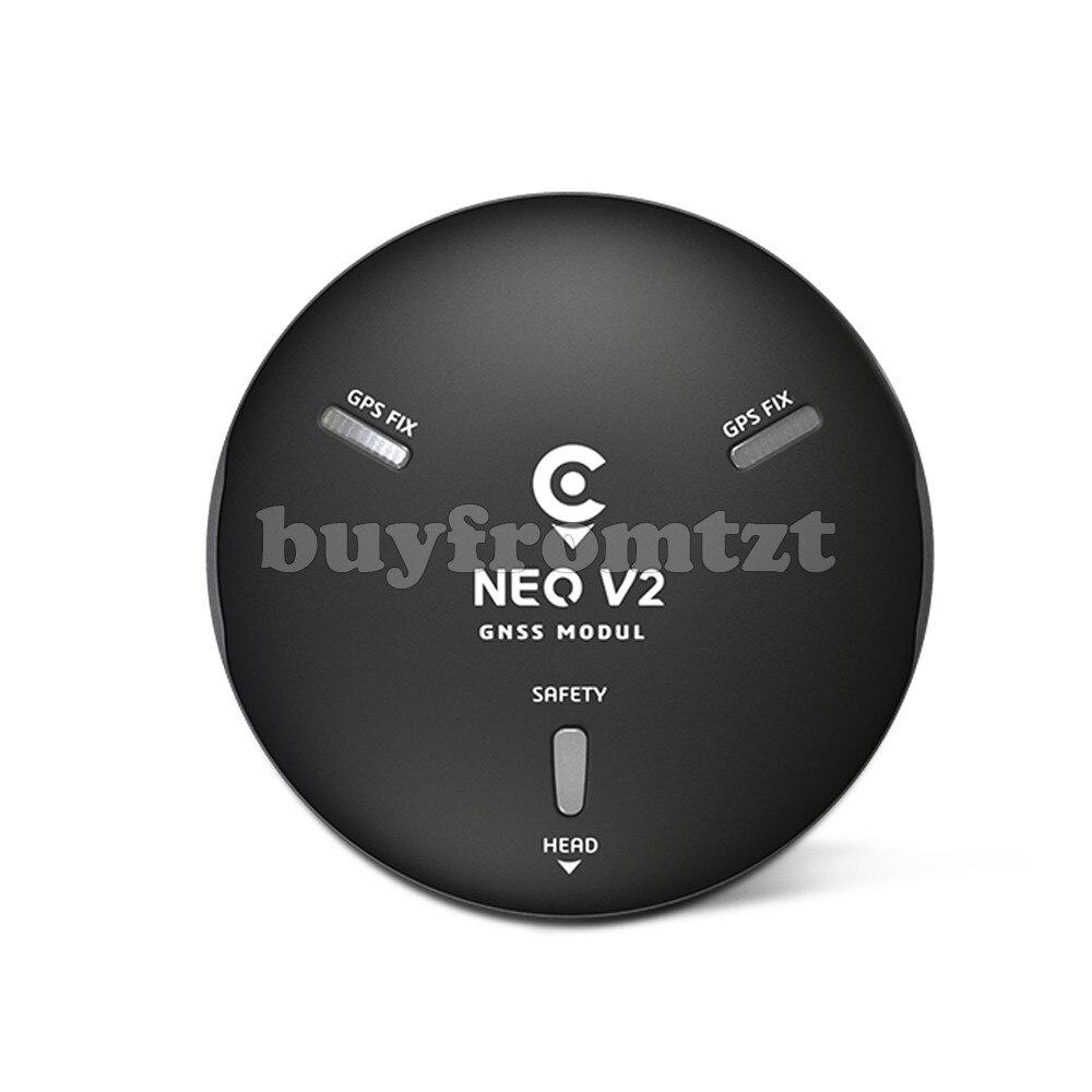 CUAV NEO V2 GPS GNSS Module avec U-BLOX M8N GPS e-boussole Buzzer LED pour V5 contrôleur de vol V5 nouvelle Version
