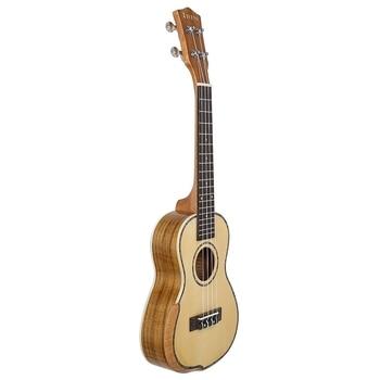 IRIN Concert Ukulele 23 Inch Spruce Wood 18 Fret Acoustic Guitar Ukelele Engineered Wood Fingerboard Neck Hawaii 4 String Guitar