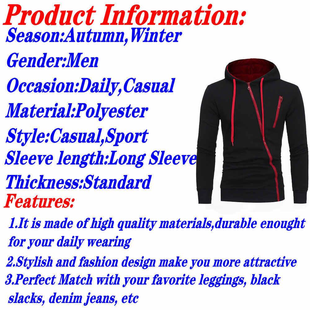 Mantle hoodies anorak hip hop anime ropa cremallera Sudadera con capucha traje deportivo para hombre