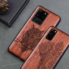 Wood Phone Case For Samsung galaxy s20 Luxury Cover For Samsung s20+ plus s20 ultra Wooden Slim Case Cover