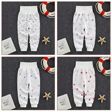 2020 babie lato spodnie dla niemowląt długie spodnie dziewczynek chłopców legginsy noworodka bawełniane ubrania dla dzieci odzież dla niemowląt dzieci PP spodnie tanie tanio Cartoon REGULAR Baby Pants Pełnej długości Unisex COTTON Nowoczesne Pasuje prawda na wymiar weź swój normalny rozmiar