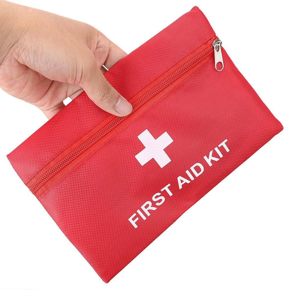 NICEYARD 20*14cm Portable Emergency Medical Kit Storage First Aid Kit Bag Tool Bag Tools Packaging Empty Oxford Cloth Bag