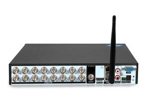 Image 2 - 赤パネルオーディオ顔検出5MP xmeye Hi3531D H.265 + 8CH 8チャンネル16CHハイブリッド6で1世tvi cvi nvr ahd wifi cctv dvr