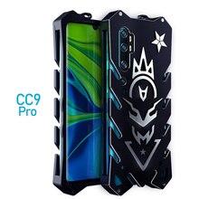 Voor Xiao mi mi note 10 Zimon luxe Nieuwe Thor Heavy Duty Armor Metal Alu Mi Num telefoon case Voor xiao mi mi note 10 Pro case