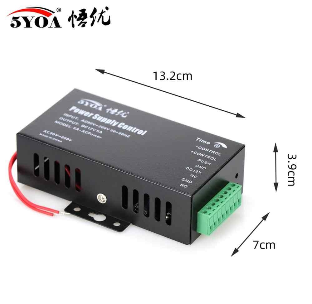 Dc 12v interruptor do sistema de controle de acesso, fonte de alimentação 3a 5a ac 110 ~ 240v para rfid impressão digital dispositivo da máquina do controle do acesso
