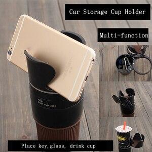 Image 2 - רכב מחזיק כוס שתיית בקבוק מחזיק משקפי שמש טלפון ארגונית Stowing לסדר עבור אוטומטי רכב סטיילינג אביזרי עבור bmw לאדה
