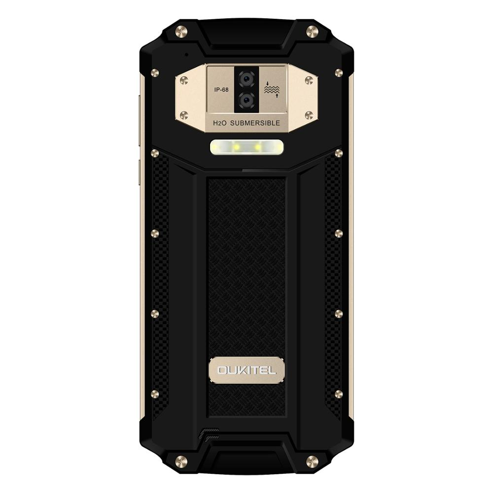Image 3 - OUKITEL WP2 6.0 Inch Smartphone IP68 Waterproof Mobile Phone 4GB 64GB MT6750T Octa Core Cellphone 10000mAh NFC Quick Charge OTGCellphones   -