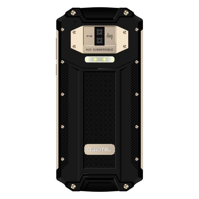 OUKITEL WP2 6.0 pouces Smartphone IP68 téléphone portable étanche 4GB 64GB MT6750T Octa Core téléphone portable 10000mAh NFC Charge rapide OTG