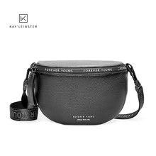 Sacs à bandoulière en cuir véritable pour femmes, sac à épaule de marque célèbre, mode, large sangle souple, petit sac