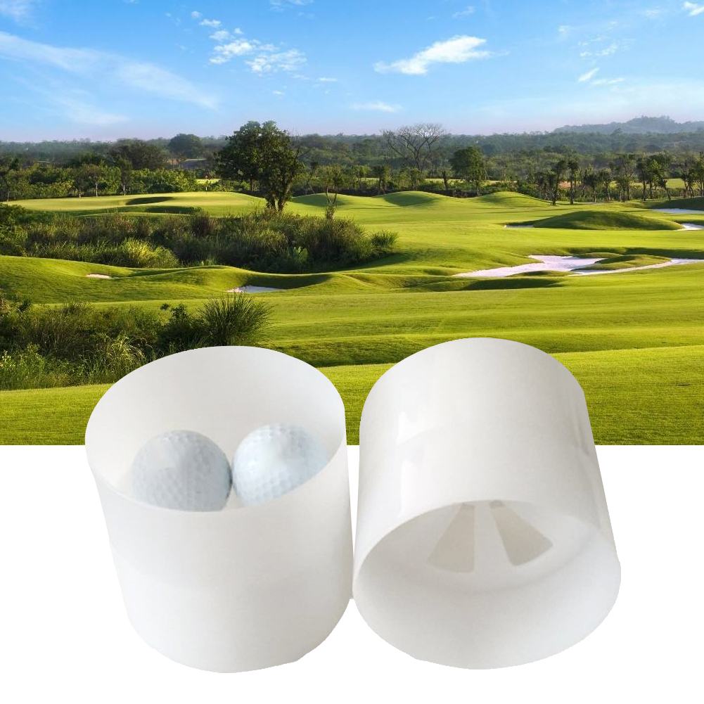 Game Putting Green Backyard Golf Hole Cup Indoor Yard Support Flag Outdoor Sports In Ground Protection Training Aids Garden