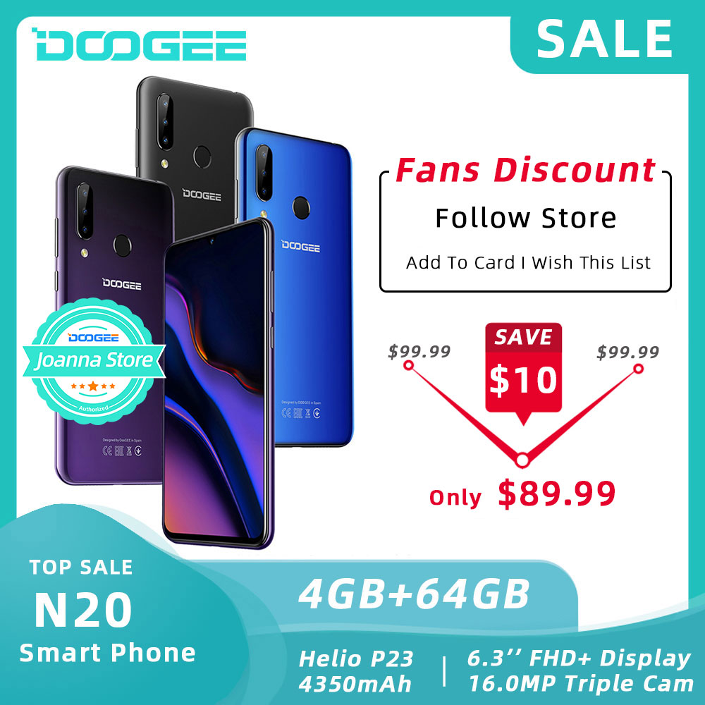 DOOGEE N20 64GB 4GB MT6763 Octa Core teléfono móvil huella digital 6,3 pulgadas FHD + pantalla 16MP Triple cámara trasera 4350mAh teléfono móvil LTE Nubia Play 5G teléfono móvil 6,65 pulgadas AMOLED 144Hz pantalla Snapdragon 765G SA NSA banda Dual en pantalla 30W PD cargador rápido