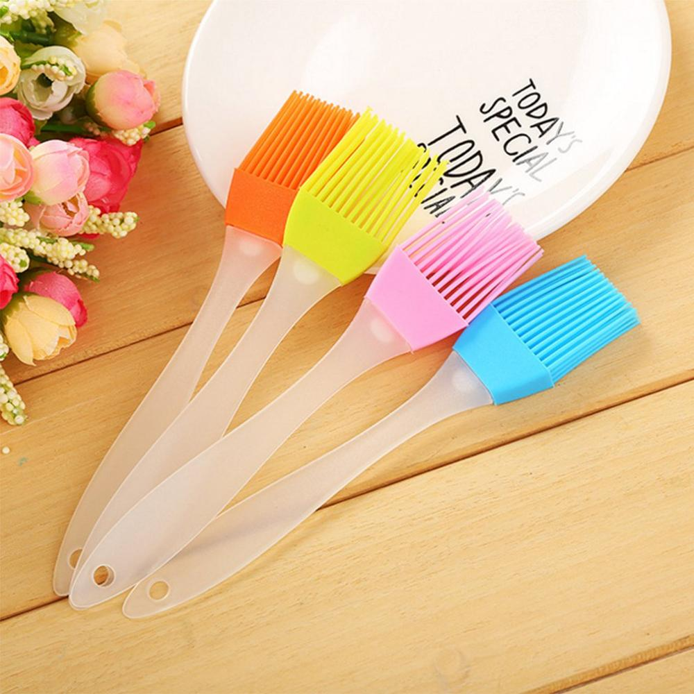 2019 NEW High Temperature Silicone Oil Brush Baking Bakeware Bread Cook Pastry Oil Detachable Cream BBQ Basting Brush