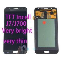 Pantalla LCD Incell para Samsung Galaxy J7 2015 J700 J700F J700M J700H, digitalizador de pantalla táctil, ajuste de pantalla LCD para Samsung J700