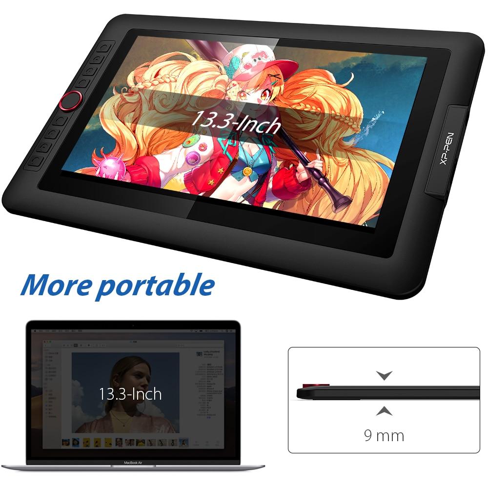 XP-Stift Künstler 13,3 Pro Grafik Tablet Grafik Monitor Zeichnung 13.3