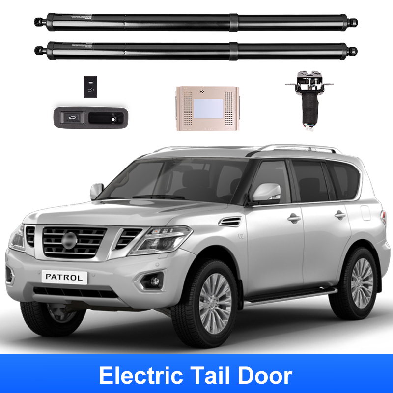 QHCP Electric Tailgate Modified Car Smart Electric Tail Gate Doors Lift Automatic Lifting Modification Fit For Nissan Patrol Y62