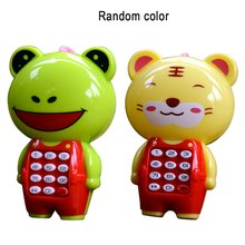 Creative Cartoon Music Phone Mobile Baby Education Learning Toy Model Machine ChildrenS Best Gift