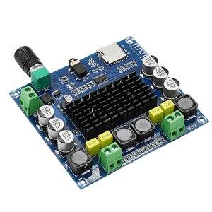 Image 2 - Amplificateur Bluetooth TDA7498 amplificateurs numériques carte double canal 2*100W stéréo Audio bricolage amplificateur Module Support MP3 WAV WMA décodeur