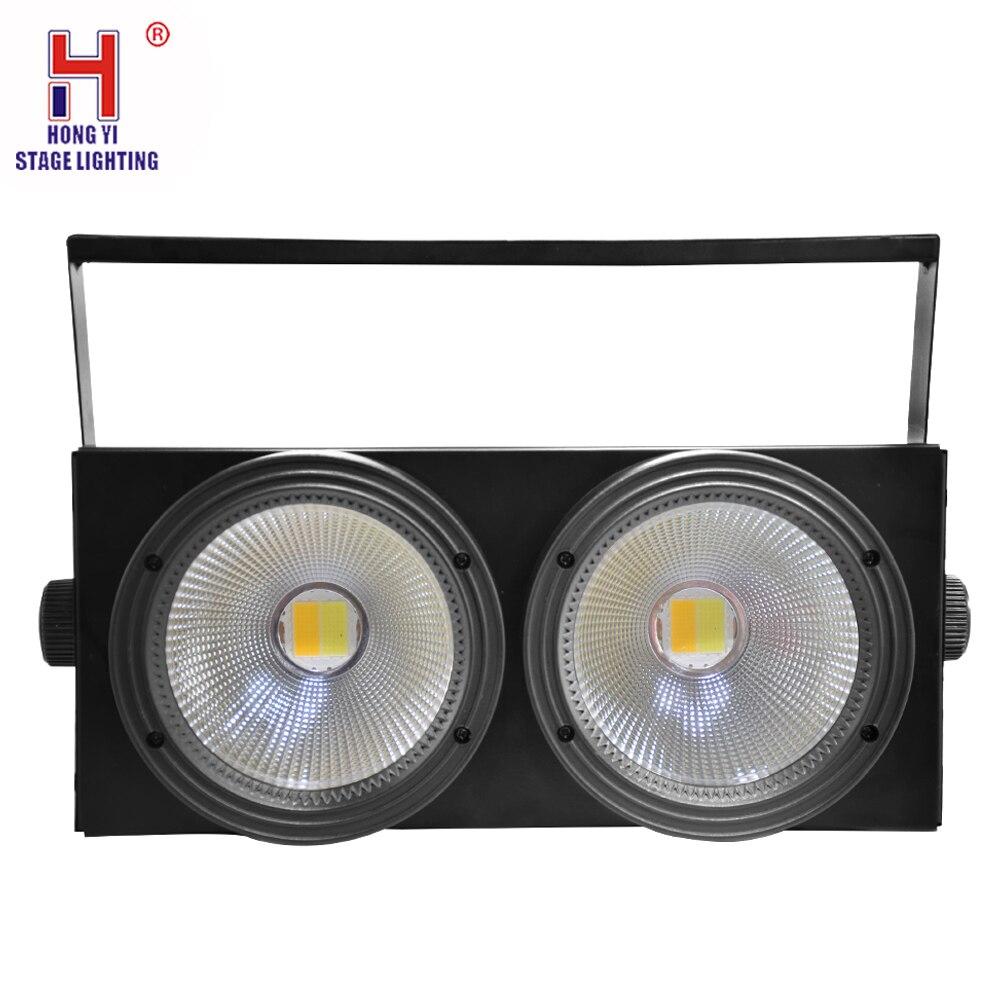 2Eyes COB LED Blinder LED Par Stage Lamp Effect For Stage Effect Light DJ Disco Lighting Party