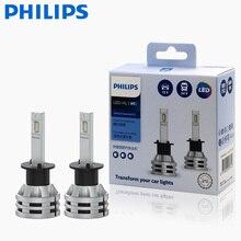 2x philips ultinon essential g2 led 6500k h1 12/24v 19w p14. 5S longe e perto de luz original lâmpada super luz branca 11258ue2x2