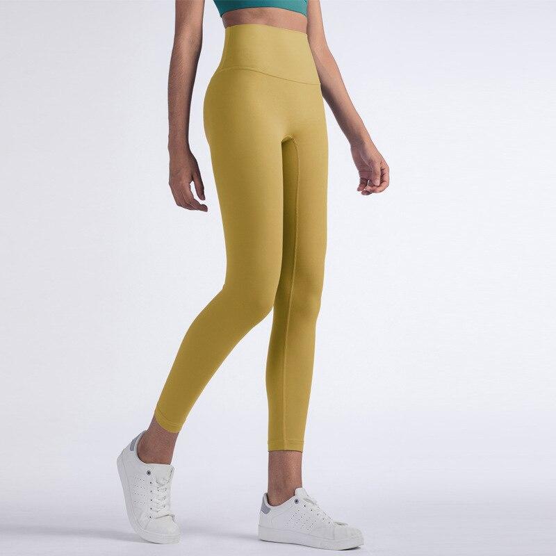 NCLAGEN Butt Lift Yogaings Leggings Women High Waist Squat Proof Workout Nude Capris 2020 Nylon Energy Gym Fitness Leggings