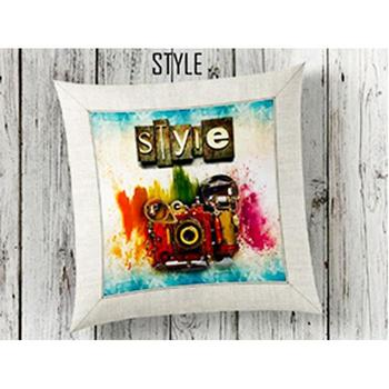 Style 3d Pillow decorate image