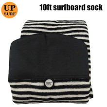 10ft Surfboard Socks Cover Quick-dry Sock Surfing protective bag black white blue
