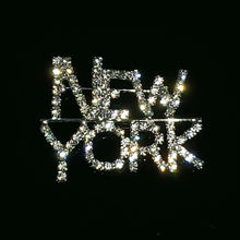 Ювелирные изделия ручной работы с кристаллами «штат Нью Йорк»